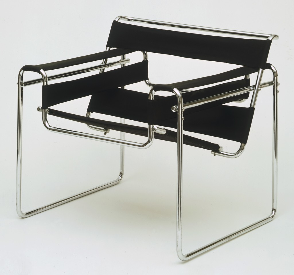 Club chair by Marcel Breuer on the MoMA.org website.