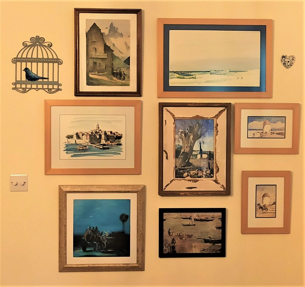 organise your wall decor blog