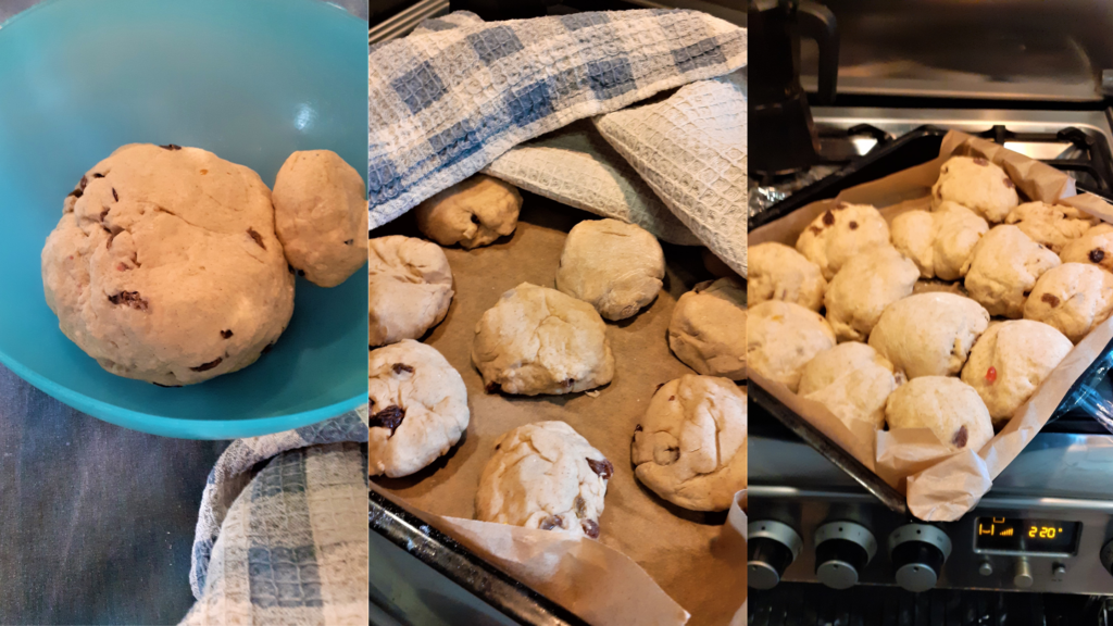 dough and proving