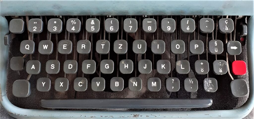 what happened to the typewriter