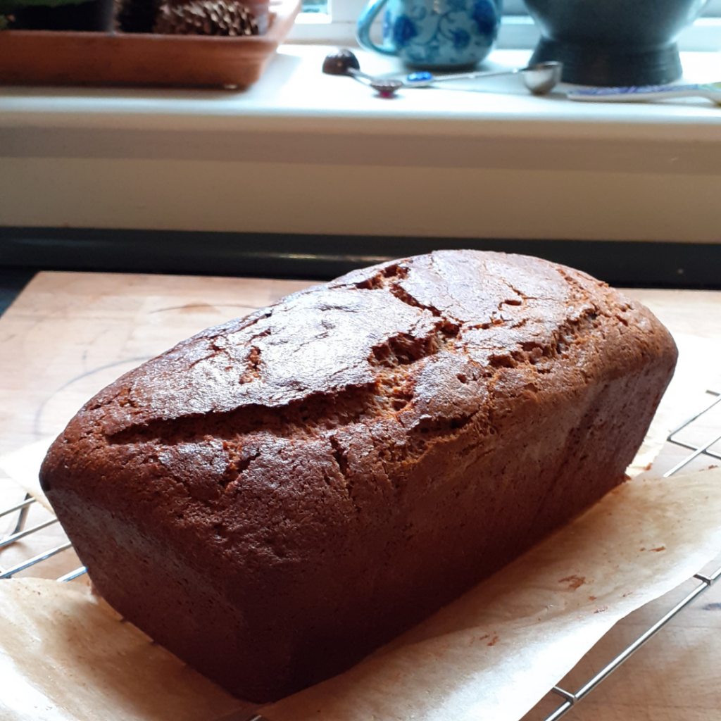 Spice cake just out the oven